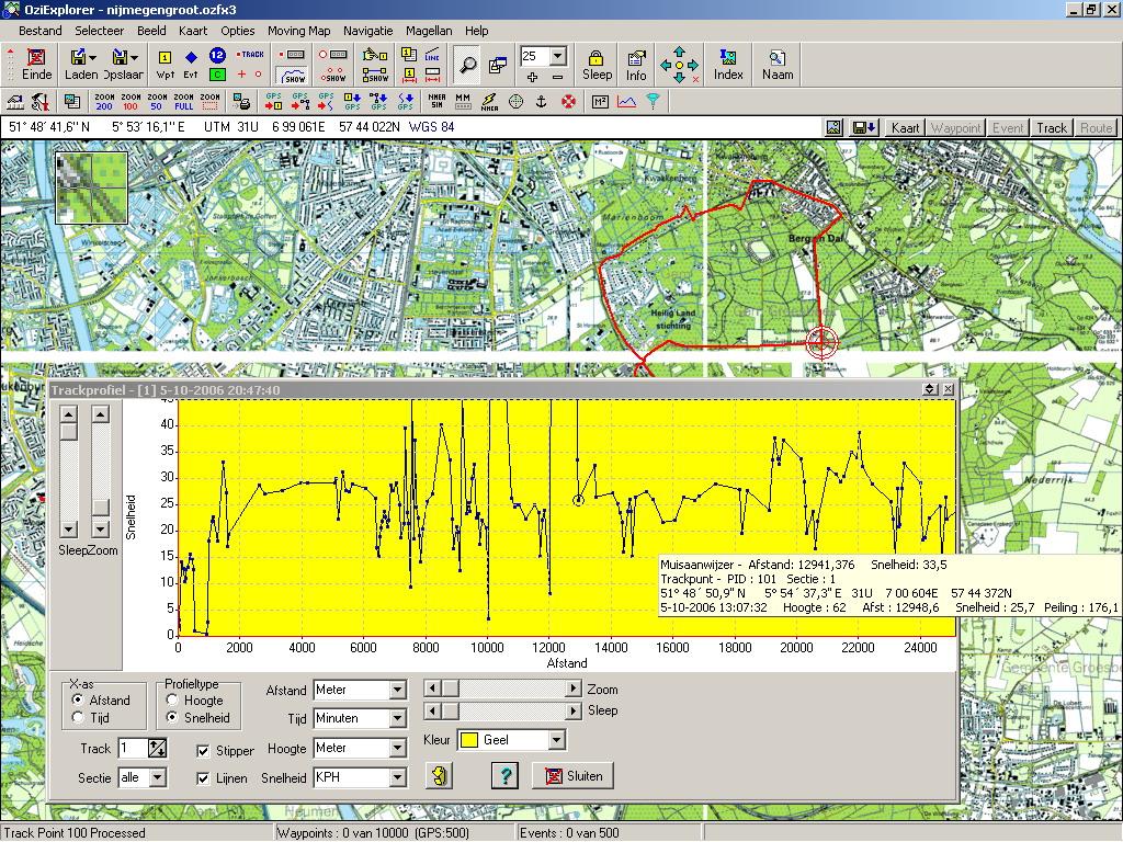 HansCeescom Magellan GPS explorist 210 review and howto